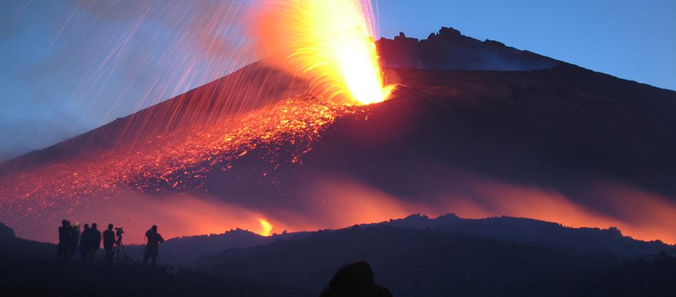 Excursiones diarias al Etna en Todo Terreno.